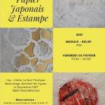 Papier Japonais et estampes - 5 février 2021